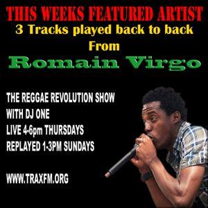 THE REGGAE REVOLUTION SHOW WITH DJ ONE - TRAX FM - THURSDAY 19TH JANUARY 2017
