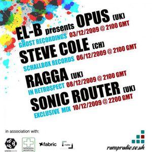 DJ Ragga - Liquid Sessions on Ramp Radio - Nov 2009