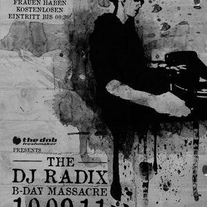 dj radix & mc ava, o-virus, spilla @ radix' birthday bash (10.9.2011)