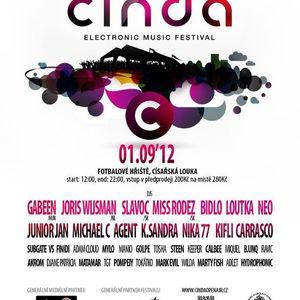 Adam Cloud @ Cinda open air - main stage 1.9.2012