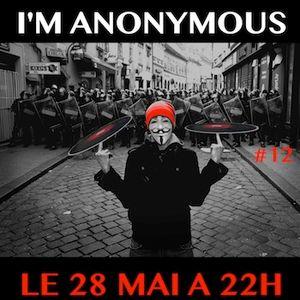 F*** Me I'm Anonymous #12 - part 1 - live au Mark XIII - 28/05/2014