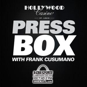 The Press Box: Seg. 5: Scott Rosenblum