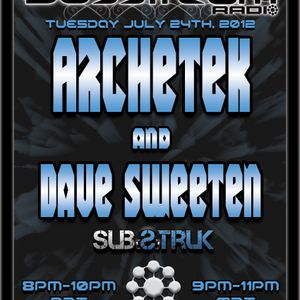 Basstream Radio on Glitch.FM 125 - VA Mixed by Dave Sweeten