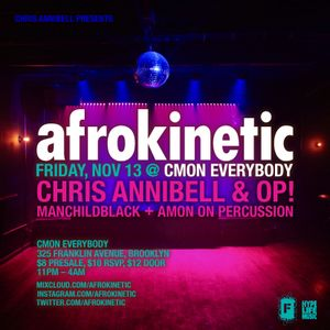 AFROKINETIC Autumn Warm-up mix w/OP!