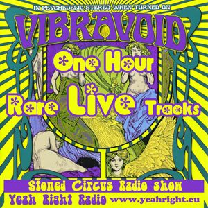 Stoned Circus Radio Show - YEAH RIGHT RADIO SPECIAL VIBRAVOID LIVE - August 12th, 2015