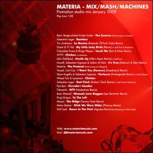 Materia - Mix/Mash/Machines