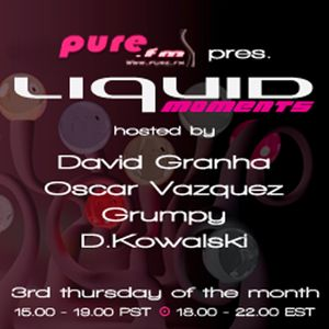 David Granha - Liquid Moments 034 pt.1 [Jul 19, 2012] on Pure.FM