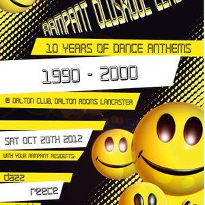 LIVE @ Rampant OldSkool Classics, Dalton Rooms Lancaster. (Live Broadcast)