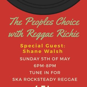 The Peoples Chooice with special guest Shane Walsh on Phever TV & Radio Dublin 5/5/19
