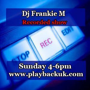 Frankie M Live on Playbackuk