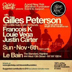 Part 7: Benji B at Gilles Peterson Marathon Fundraiser - Le Bain, NYC - Nov 6, 2016
