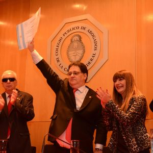 04/06/2016 2°Hora: Asunción del Dr Rizzo como presidente del CPACF - Zaffaroni y su suspensión.