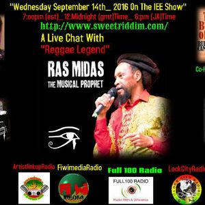 AN IN DEPTH CHAT WITH RAS MIDAS (W) RUDDY CAMPBELL CO-HOST &HOST BETTY LUV IE&E PROGRAM