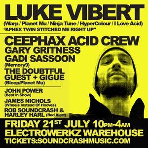 Luke Vibert - Electrowerkz Exclusive Mini Mix