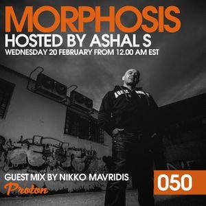 Morphosis 050 With Ashal S And Nikko Mavridis (20-02-2019)