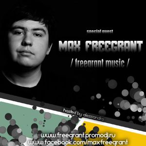 Max Freegrant - Invisible Sounds 054 Guest Mix @ Vibes Radio Station 15 October 2012
