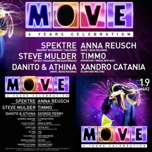 6 Jahre Move.Celebration@Xandro Catania Live-Set