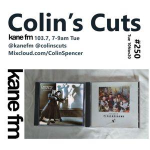 Colin's Cuts #250 Kane FM 103.7 KaneFM.com 7-9am Tue 10Nov20 @KaneFM