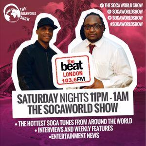#SocaWorldShow with @DjBostman & DJ Trini Topshotta [17.06.2017 2300 - 0100 GMT]