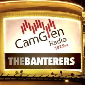 The Banterers with Brendan Cole, Glasgow band The Reason and ex-STV Jim Delahunt; 19th January 2017