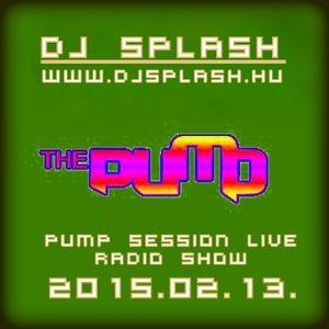 Dj Splash (Lynx Sharp) - Pump Session Live Radio Show 2015.02.13.