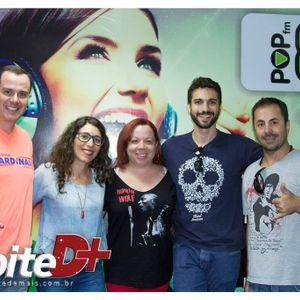 Programa Noite D+ Pop FM com Mateus Bottassi Pitta e Jota Gonzalez