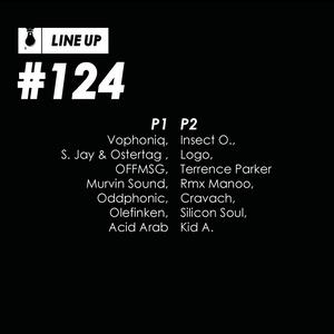 Line Up #124 P1