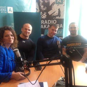 złoci , bardzo silni chłopcy odwiedzili Radio Akadera