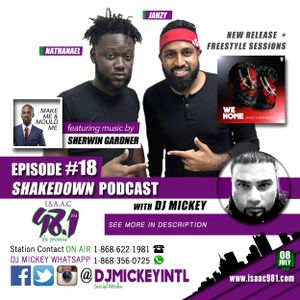 SHAKEDOWN PODCAST 018 with Jahzy & Nathanael   downloads in description