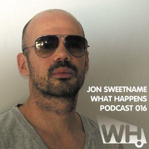 Jon Sweetname (ES) - What Happens Podcast 016