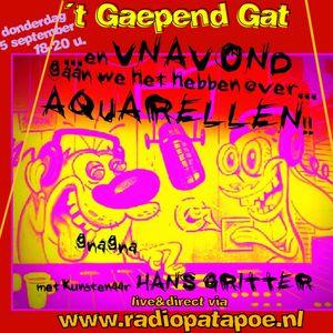 Proefaflevering 59 Gaepend Gat interview met kunstenaar Hans Gritter