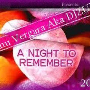 Manu Vergara Aka DJZULO-A night to remember (2014)