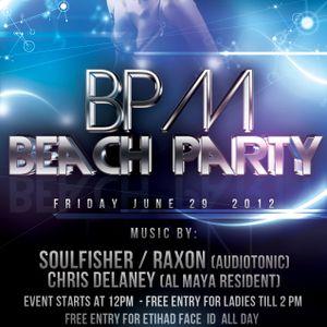 Soulfisher live @ Al Maya Island 29.06.12