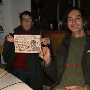 Pressons-nous avec le dessinateur Joan et l'archéologue BD Bertrand Diss — 21.01.15