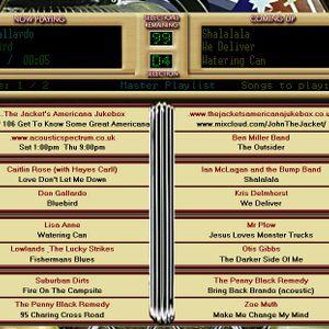 The Jacket's Americana Jukebox - Show #106