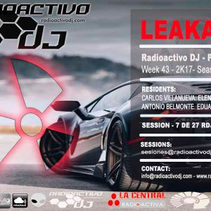 RADIOACTIVO DJ 43-2017 BY CARLOS VILLANUEVA