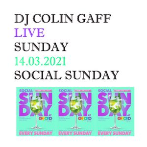 LIVE IN SYDNEY - 14TH MARCH 2021 - SOCIAL SUNDAY
