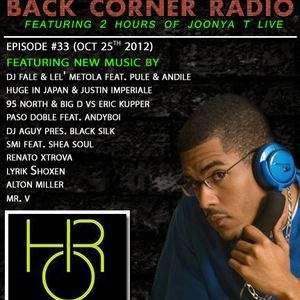 BACK CORNER RADIO: Episode #33 (Oct 25th 2012)