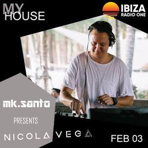 Dj Nicola Vega on Radio One Ibiza February 2019