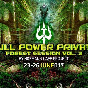 Full Power Private Forest Session vol. 3 -DJ set  TZYGEL'  2017