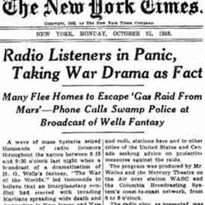 """War of the Worlds"" on WOO 91"