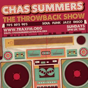 Trax FM (Sunday 20-12-2015) The Throwback Show with Chas Summers