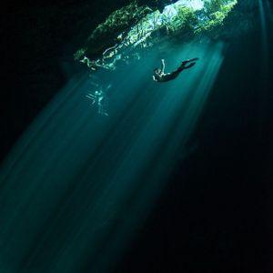 Cenote drift