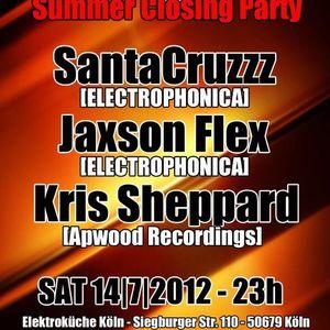 Kris Sheppard@elektrokueche 14.07.2012