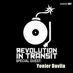 RIT Sessions 007 (Special Guest Yonier Davila)