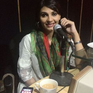 FARIHA PERVEZ EXCLUSIVE MAST FM  103 INTERVIEW BY DR EJAZ WARIS DATED 1ST JULY 2012