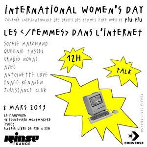 Women's Day Take Over : Les Femmes Dans l'Internet - 08 Mars 2019