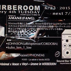 2015/6/23 WIRBEROOM@Sound Bar Pure's