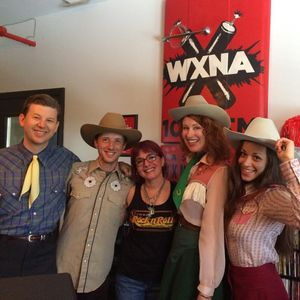 The Farmer & Adele Live Performance and Interview on WXNA! Recorded Live on 7/9/17