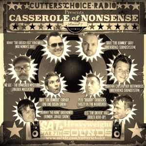 ISS (Rolex Tharsus) - Casserole of Nonsense Rd.2 on Cutters Choice Radio (Mixlr)